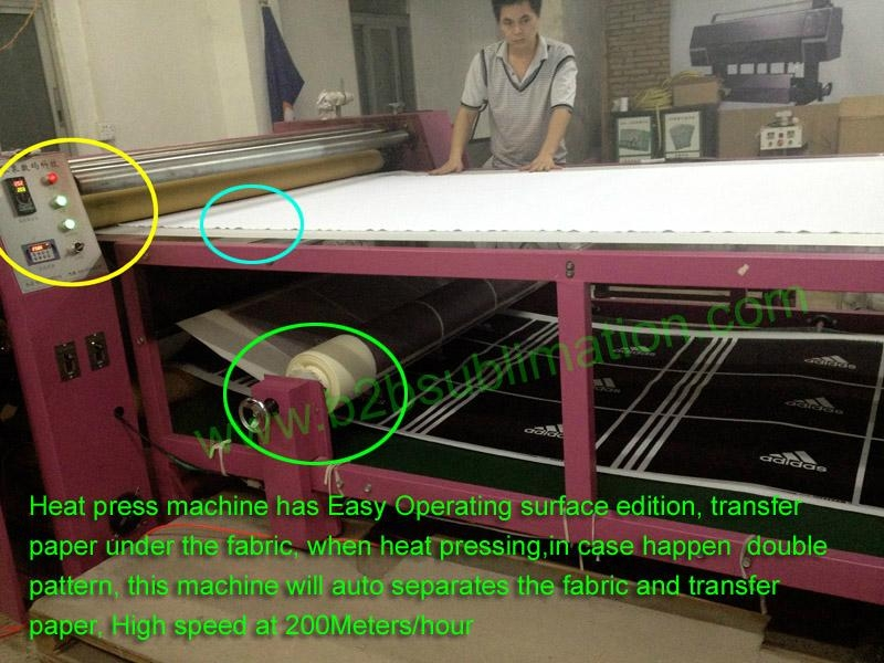 Multifunction sublimation Heat transfer printing machine for fabric 1