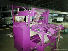 Large roller multicolor lanyard printing machine