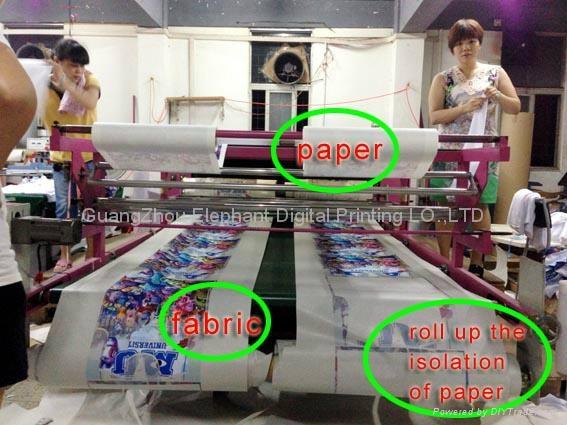 03ee2350 rotary t-shirt heat press printing machine - 1600 - DBX (China ...