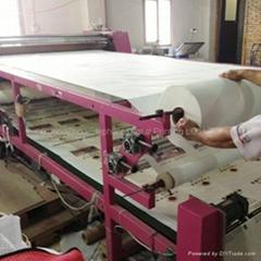 Digital Rotary Large format air press heat transfer printing machine