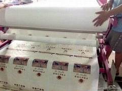 Roll to Roll Digital heat press label printing machine