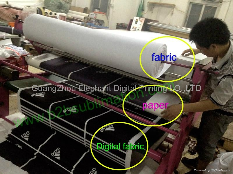 Roll To Roll Heat Transfer Printing Machine For Fabric