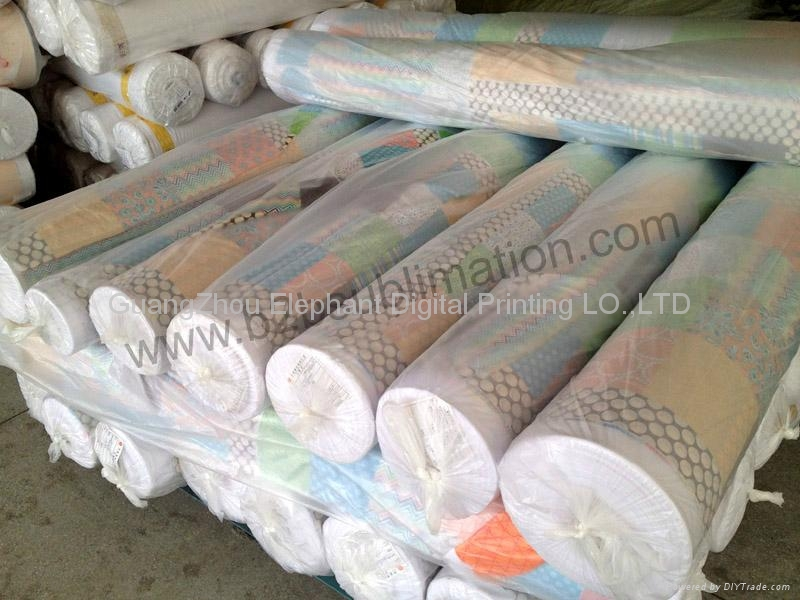 Roll to Roll Heat transfer printing machine for fabric 4