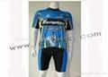 Short jersey heat transfer printing
