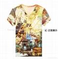 Digital transfer printing t-shirt