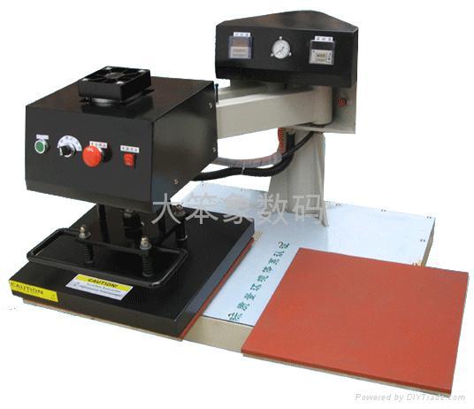 半自动双工位摇头烫画机 1