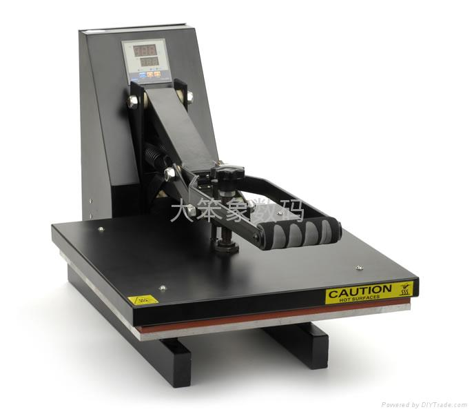 T shirt manual heat transfer machine high pressure us for Commercial shirt printing machine