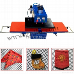 Double location pneumatic T Shirt Heat machine