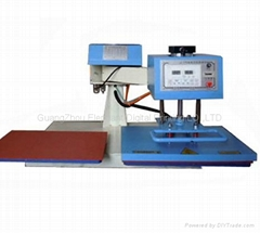 Pneumatic shake heat press machine