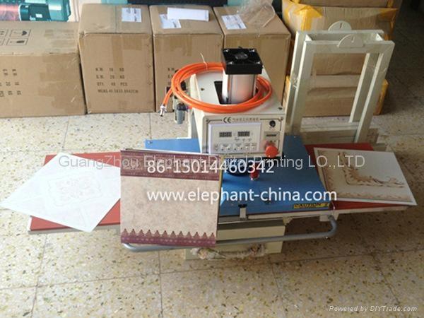 新型氣動雙工位燙畫機 5