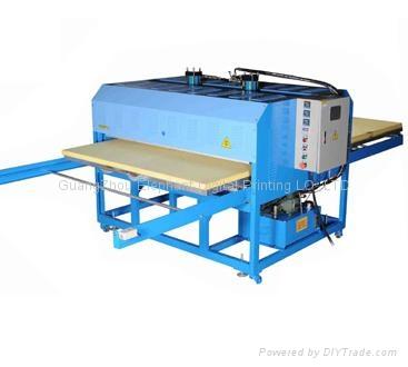 半自动液压双工位烫画机 1
