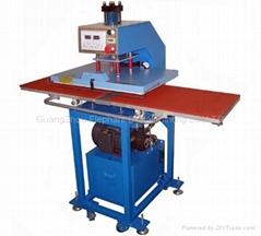 液压双工位烫画机