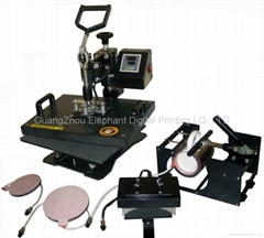 heat transfer machine 5 in 1 multifunction