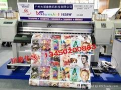 Mutoh VJ1638W熱轉印打印機系列-第七代寫真機