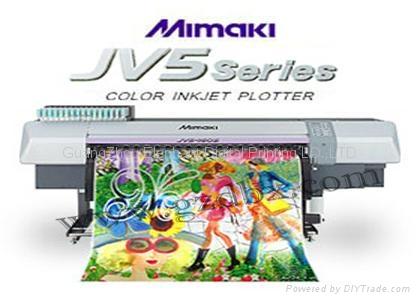 MIMAKI JV5熱昇華打印機 1