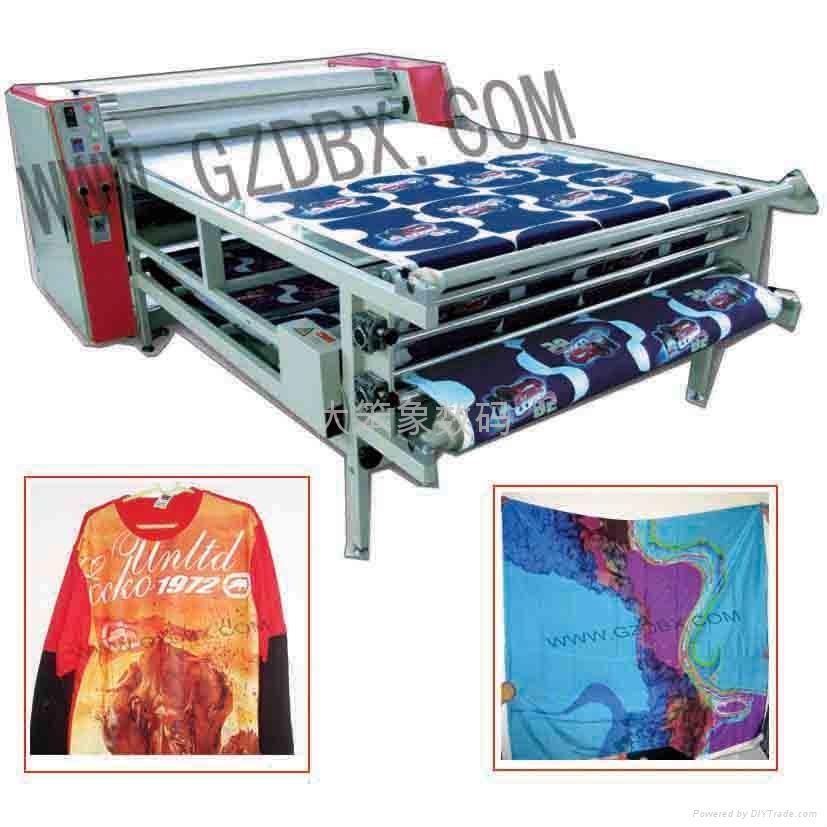 多功能裁片滾筒印花機 1