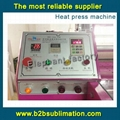 Rotary Heat Press Machine for Sublimation sportswear garment panel