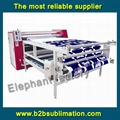 roll to roll heat press transfer machine