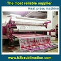 Newest Chinese Upgrated roller heat transfer press machine