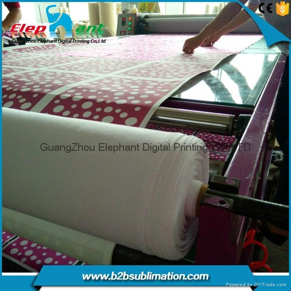 Best selling Multifunctional roller sublimation heat transfer machine for textil 1