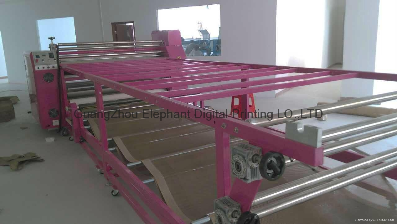 Best selling Multifunctional roller sublimation heat transfer machine for textil 16