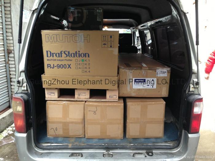 1.2米寬幅熱昇華打印機 120CM寬幅熱轉印打印機 MUTOH 900x 9