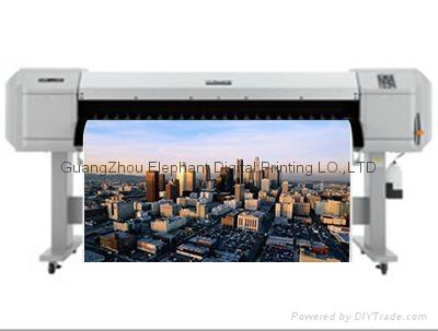 新款推出 日本Mutoh第七代VJ-1624W熱昇華熱轉印打印機 四色印刷 4