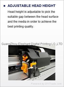 新款推出 日本Mutoh第七代VJ-1624W熱昇華熱轉印打印機 四色印刷 8