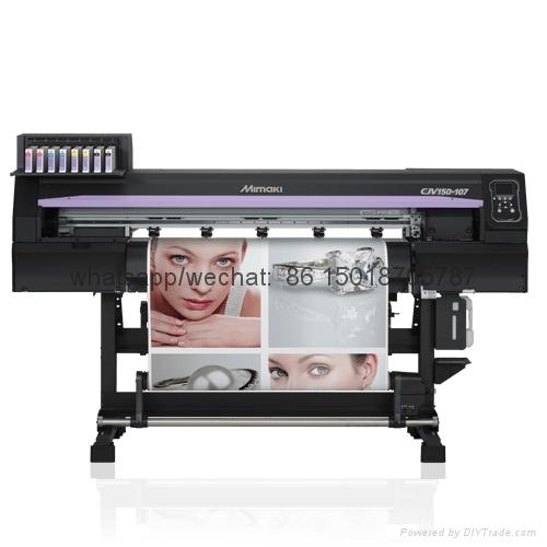 Mimaki高性能噴刻一體機 打印兼切割CJV150-107操作簡單 色彩鮮艷 7