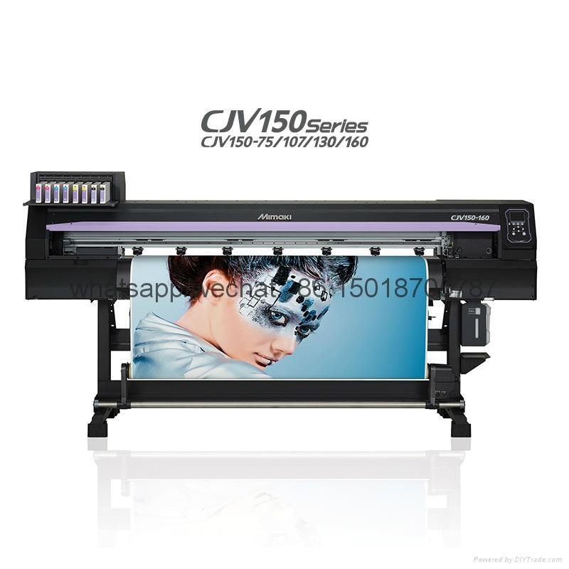 Mimaki高性能喷刻一体机 打印兼切割CJV150-107操作简单 色彩鲜艳 3