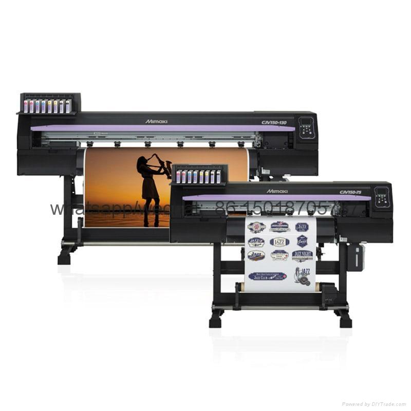 Mimaki高性能喷刻一体机 打印兼切割CJV150-107操作简单 色彩鲜艳 2