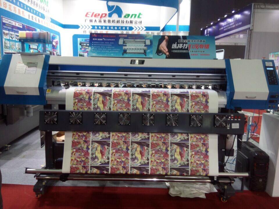 1.8米高效率雙五代噴頭熱昇華打印機 數碼印刷機 高品質寫真機 2