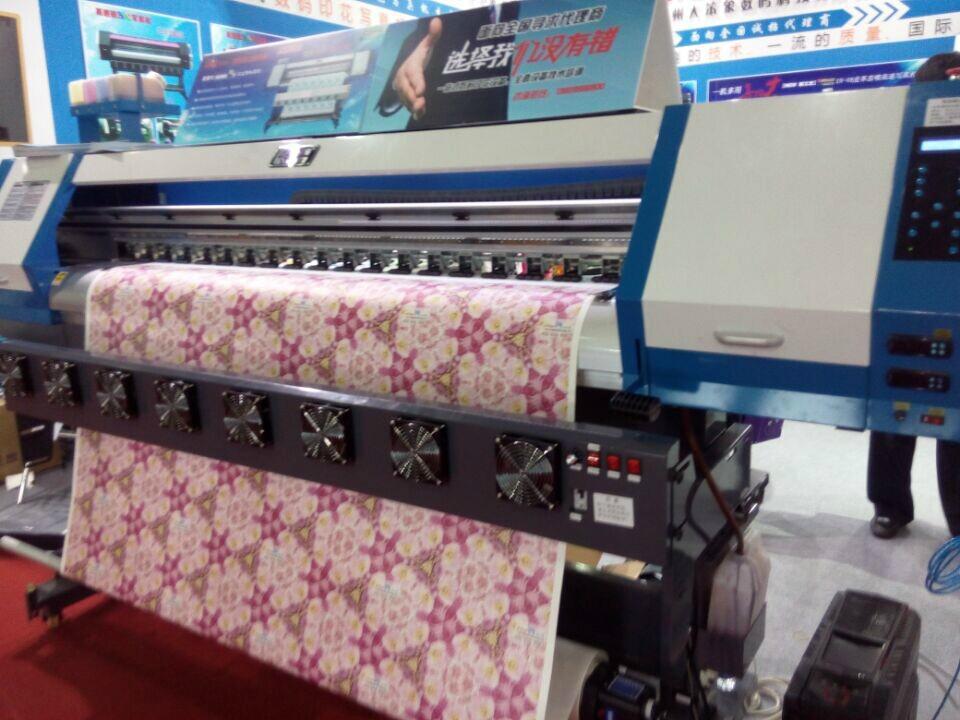 1.8米高效率双五代喷头热升华打印机 数码印刷机 高品质写真机 3