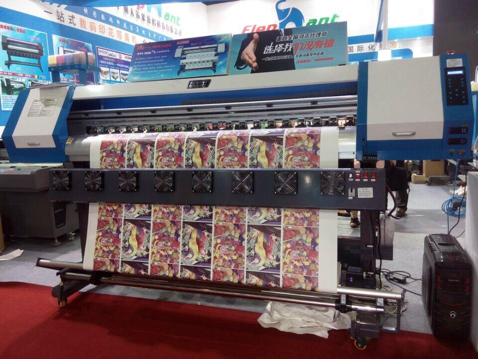 1.8米高效率双五代喷头热升华打印机 数码印刷机 高品质写真机 5