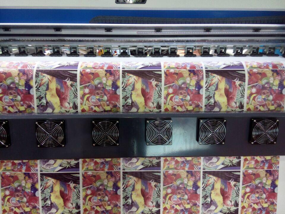 1.8米高效率双五代喷头热升华打印机 数码印刷机 高品质写真机 17
