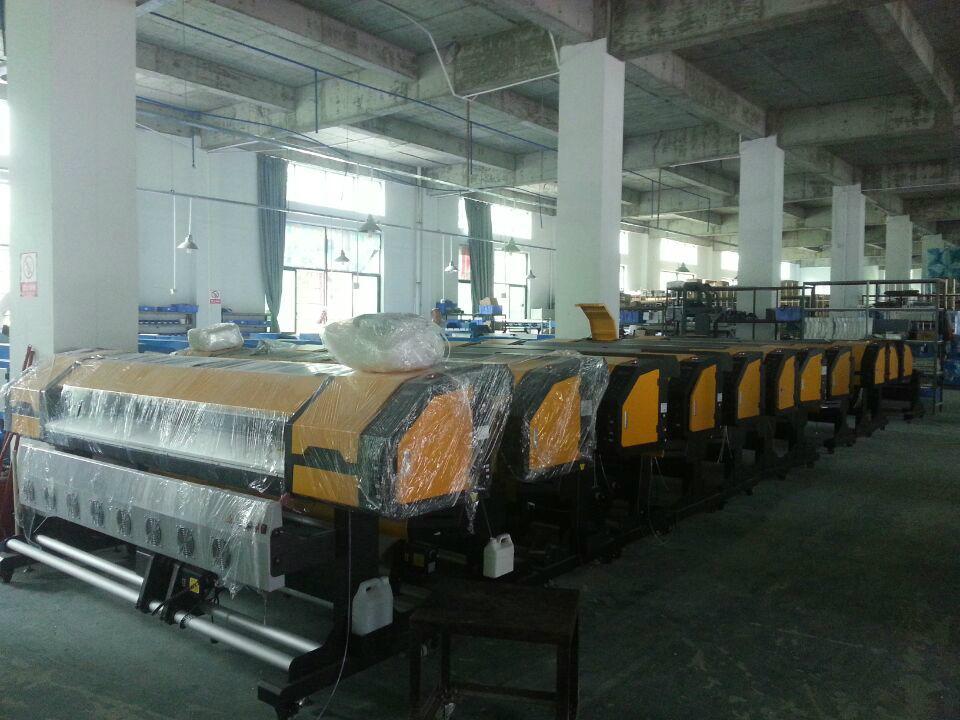1.8米高效率雙五代噴頭熱昇華打印機 數碼印刷機 高品質寫真機 8