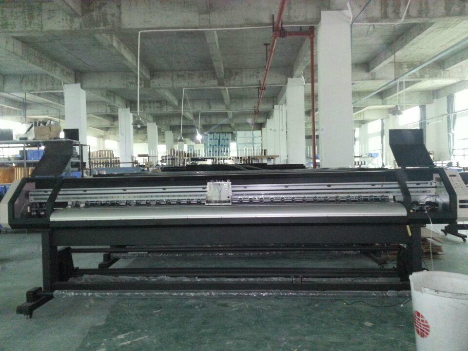 1.8米高效率双五代喷头热升华打印机 数码印刷机 高品质写真机 11