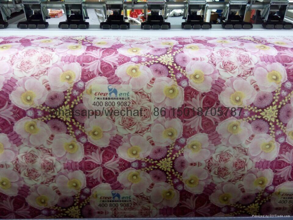 sublimation textile printer with epson 5113 printhead 1440dpi 6