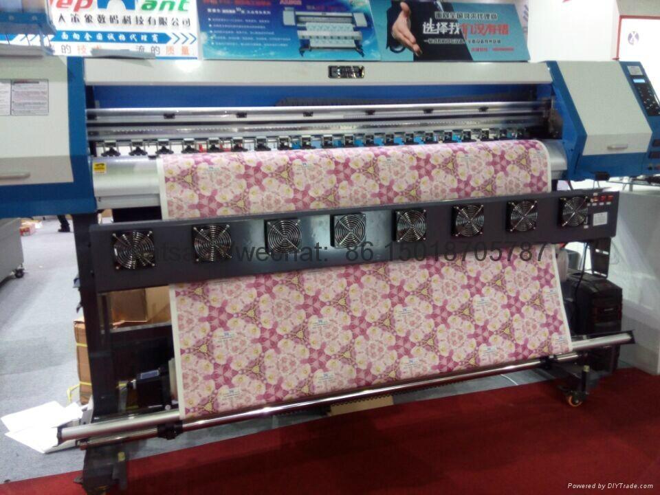sublimation textile printer with epson 5113 printhead 1440dpi 8
