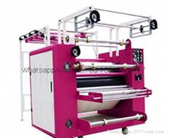 Lanyard rotary heat press machine