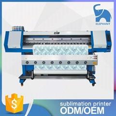 1.8米高效率双五代喷头热升华打印机 数码印刷机 高品质写真机