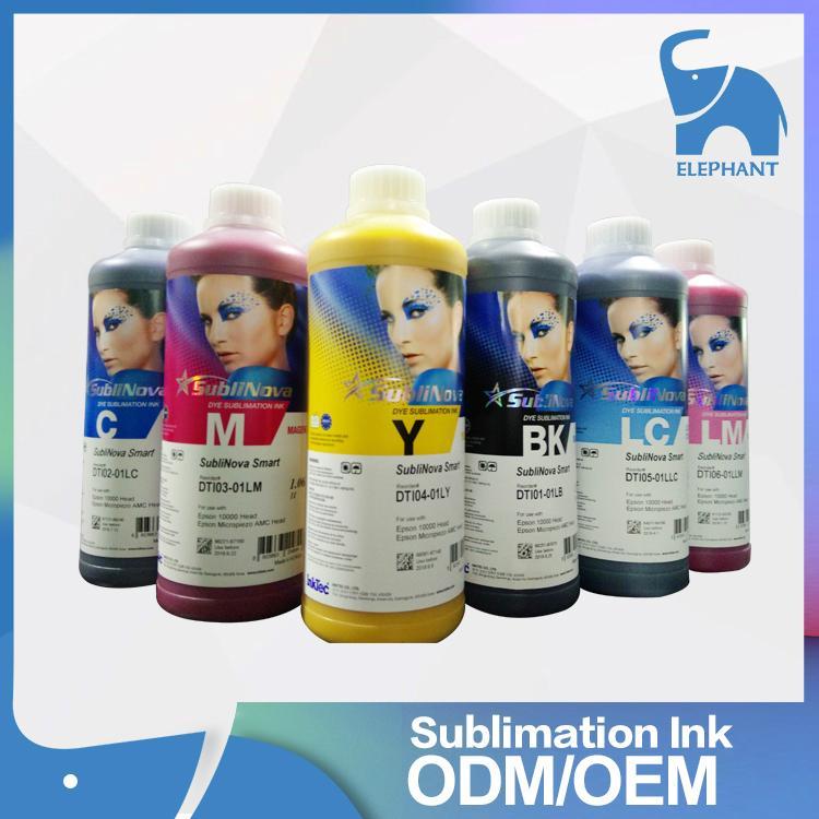 高質量 韓國INKTEC印可得熱昇華熱轉印墨水 流暢性好色牢度高環保 1