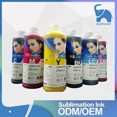 高质量 韩国INKTEC印可得热升华热转印墨水 流畅性好色牢度高环保