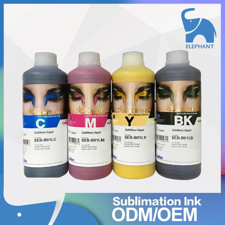 原裝正品 韓國INKTEC印可得熱昇華轉印墨水 七代噴頭專用墨水 1