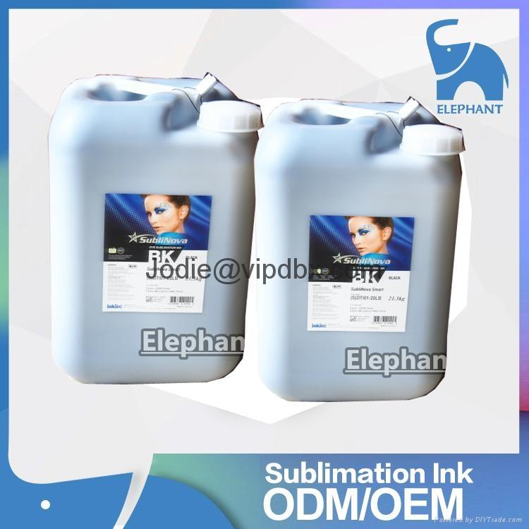 韩国INKTEC印可得 原装进口桶装热转印墨水数码印花专用墨水 1