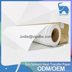 75cmx30m Eco-solvent ink heat transfer paper for t-shirt