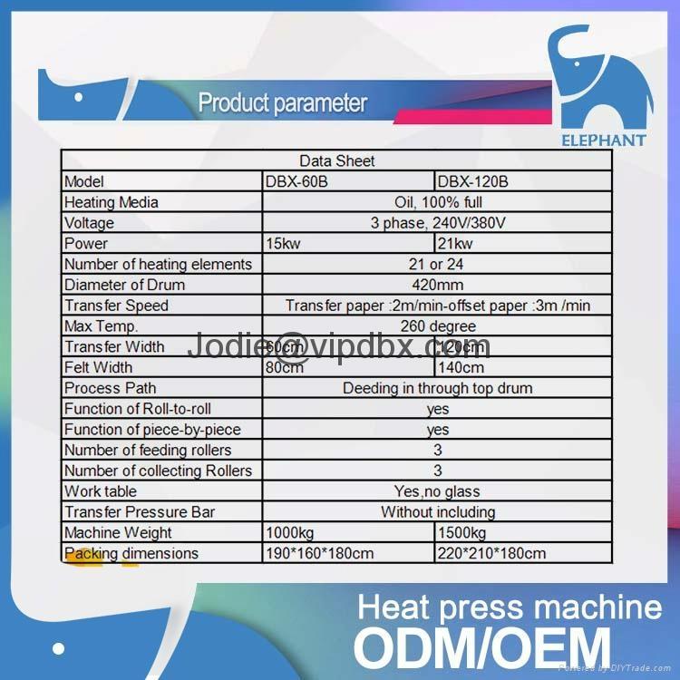 Oil Heating System Lanyard Sublimation Printing Machine - DBX-1200B ...