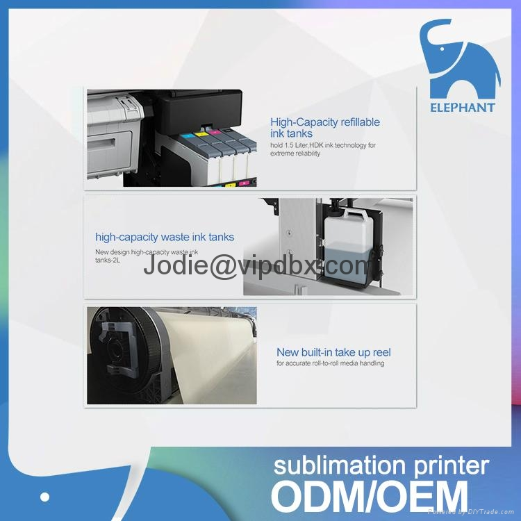 新款上架 EPSON爱普生F6280大幅面打印机数码印花机 高质量高精度 4