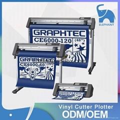 日本原装正品 GRAPHTEC图王CE6000-120刻字机 红外线自动寻边定位