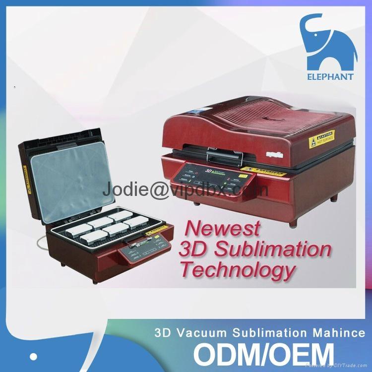 mini 3D vacuum sublimation printing machine 1
